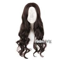 70cm Brown Hair Heat Resistant Anime Cosplay Wig