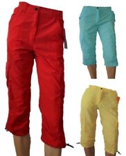 DARE 2B LADIES CURL CAPRI 3/4 LENGTH TROUSERS RED BLUE or YELLOW DWJ107