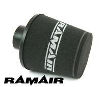 Ramair 80mm Neck Od Aluminium Black Induction Air Filter Universal New