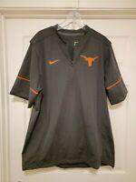 Vintage Nike Texas Longhorns Player Used Team Worn Jacket Sz XL RARE