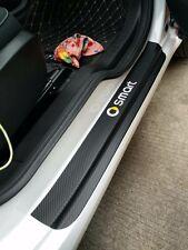 Carbon outside Door  Anti-kick Trim Sticker 2pcs For Benz Smart Fortwo 453