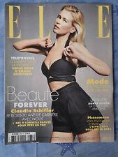 Magazine ELLE n°3883 du 22 mai 2020 Claudia Schiffer beauté TBE