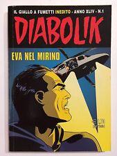 fumetto DIABOLIK ANNO XLIV numero 1