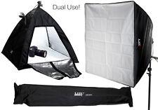 Dual-Use Still Life & Portrait Light Tent Cube / Continuous Lighting Softbox Kit