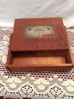 The Edge wood Cigar Box with Slide out Lid, Toto Maduro