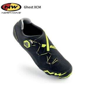 Northwave Ghost XCM Black/yellow FL Size 44 US 11