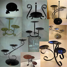 High quality metalwork pillar candle holders