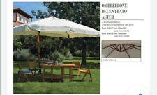 OMBRELLONE IN LEGNO DECENTRATO ASTER CM. 300x300x75 MT. 3X3