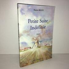Maurice Riguet PETITE SUITE INDEFINIE Poèmes EO 300ex l'amitié par livre - BB15B
