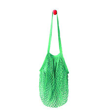 String Shopping Grocery Bag Cotton Tote Mesh Net Woven Mesh Bag Reusable Shopper