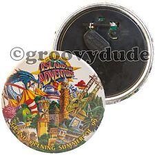 1999 Universal Studios Florida Islands Of Adventure Opening Pin Pinback Button
