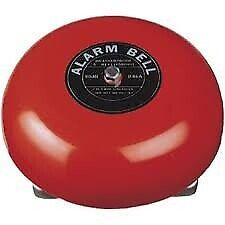 """Fire Alarm 6"""" 24V DC"""
