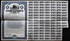 Missouri Pacific Railroad Co $1000 Bond Series F 1927