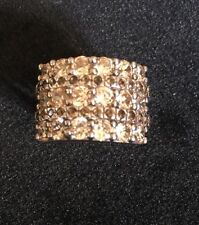 Folli Follie Sterling Silver & Cubic Zirconia Cocktail Statement Ring