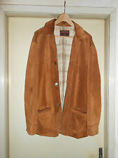Giacca jacket BOMB BOOGIE in Pelle Scamosciata da Uomo/Man Size 52