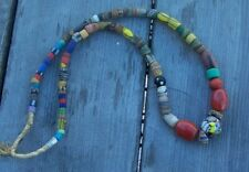 Venetian African Trade Beads Assorted Strand 07