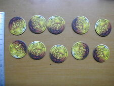10 DEAD MAN'S   TOKENS        / RUM & BONES SECOND TIDE