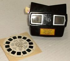 VIEWMASTER vintage GLEAMLIGHT JEWELRY COMMERCIAL REEL w/ PROMO VIEWER model E