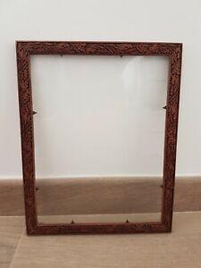 Vintage Antique Wooden Ornate Carved Picture Frame