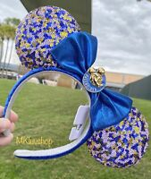 New 2021 Disney Parks Passholder Exclusive Mickey Minnie Ears Headband