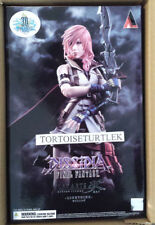 DISSIDIA FINAL FANTASY PLAY ARTS KAI LIGHTNING Action Figure