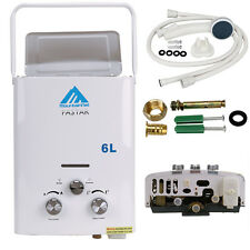 Home Outdoor Garden Portable 6L LPG Gas Tankless Instant Hot Water Heater Boiler