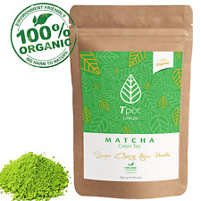 ORGANIC Japanese Matcha Green Tea Powder - Latte - Up to 100 Serves