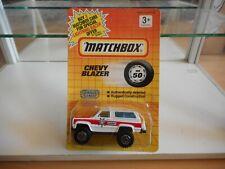 Matchbox Chevy Blazer Sheriff in White/Red on Blister