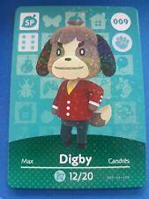 009 Digby SP Animal Crossing Amiibo Card Single - Series 1 Near Mint US Version