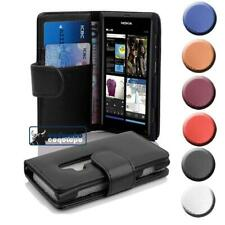 Custodia Cover per Nokia Lumia 800 Libri Case con slot per schede