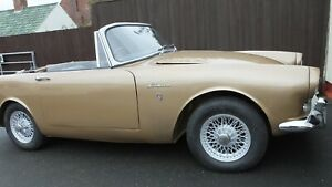 Sunbeam Alpine series 3 SPORT WITH OVERDRIVE GEAR    BOX WITH BEST OFFERS
