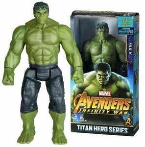 "Avengers Infinity War Titan Hero Series Power FX Hulk 12"" Action Figure 31"