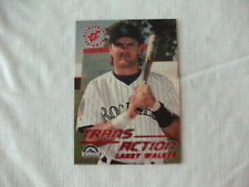 1995 Stadium Club Trans Action Larry Walker #618 Baseball Card