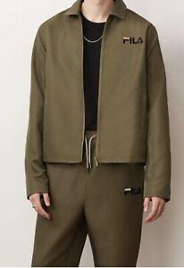 Fila Green Track Suit (Jacket & Jogger Pants) Men XL NWT