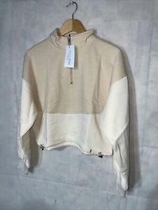 In The Style Billie Faires Contrast Toggle Crop Jumper. New Tagged Size 10