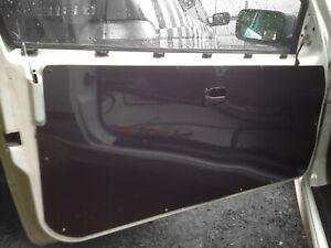2x HONDA CIVIC EK-EM Carbon Effect- Front Door Card Panels * Race Track Car *
