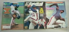 Dwight Gooden ''DR,K'' baseball magazine lot 3 different