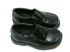 Smart Fit Toddler Boy Shoes Size 7.5 Black Dress Slip On Loafers