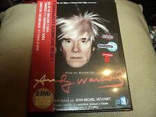 """COFFRET 2 DVD NEUF """"VIES ET MORTS DE ANDY WARHOL"""""""