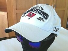 NFL Baseball Cap Reebok Tampa Bay Football Champions Hat Buccaneers Playoff 2007