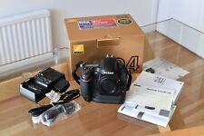 Nikon D D4 16.2MP FULL FRAME Fotocamera Reflex Digitale-Nero (Solo Corpo)
