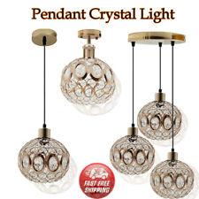 Araña de luces Lámpara de techo moderna estilo Vintage Colgante Acrílico Cristal Cuenta