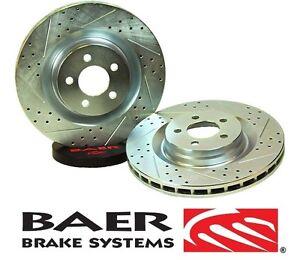 BAER Brake System Rear Sport Rotors - Pair for 2007-2017 Jeep Wrangler JK