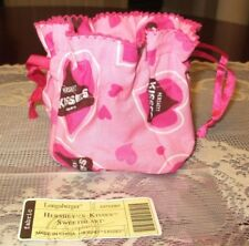 Longaberger Hershey Kisses Sweetheart Drawstring Basket Liner Candy Pouch New