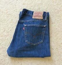 Levis 501 XX Straight Leg Blue Denim Jeans W 32 L 30