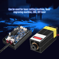 450nm 15W Blue Laser Module With Heatsink For Laser Cutter Engraver DIY