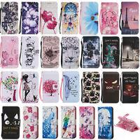 Etui coque housse Porte cartes Cuir PU Leather Wallet Case Cover iphone 7 Plus X