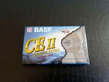 BASF CHROME EXTRA - TYPE II - 60 MINUTES - BLANK CASSETTE AUDIO NEUF SCELLE !!!
