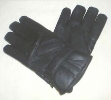 Winter Handschuhe Leder schwarz 2076 gefüttert Gr L Herren Fingerhandschuhe