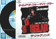 "Michael Jackson 7"" Jackson time out for the burglar japonais promo vinyl"